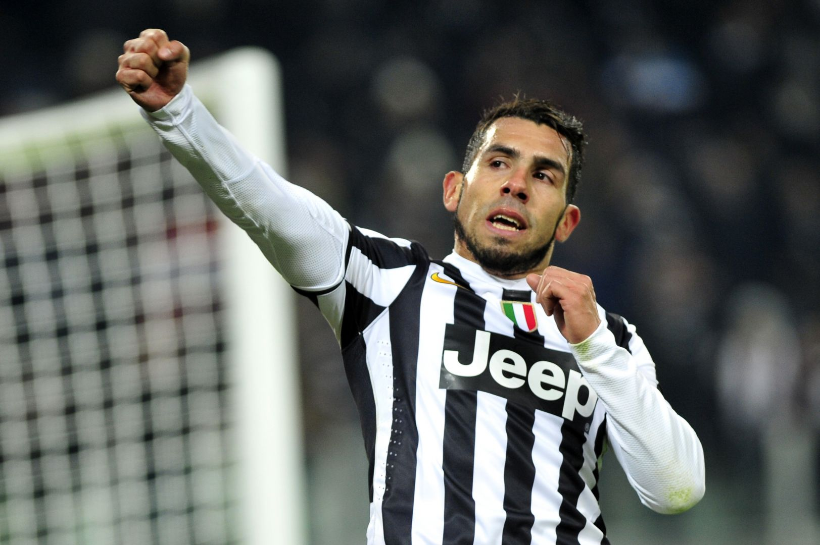 Juventus and Real Madrid  Carlos Tevez Juventus
