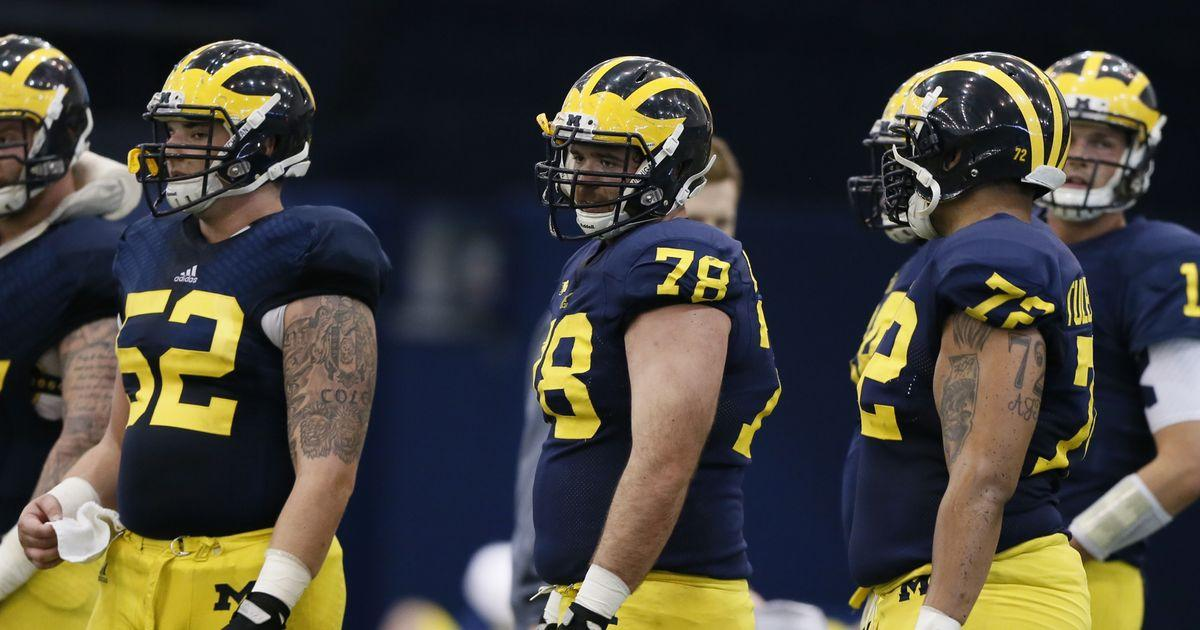 """The NFL Draft Report's """"NFL Future Stars"""" Series - With A Slew Of Wolverines Vying For National Honors, Michigan's Mason Cole Is Becoming The Center Of Attention For NFL Scouts"""