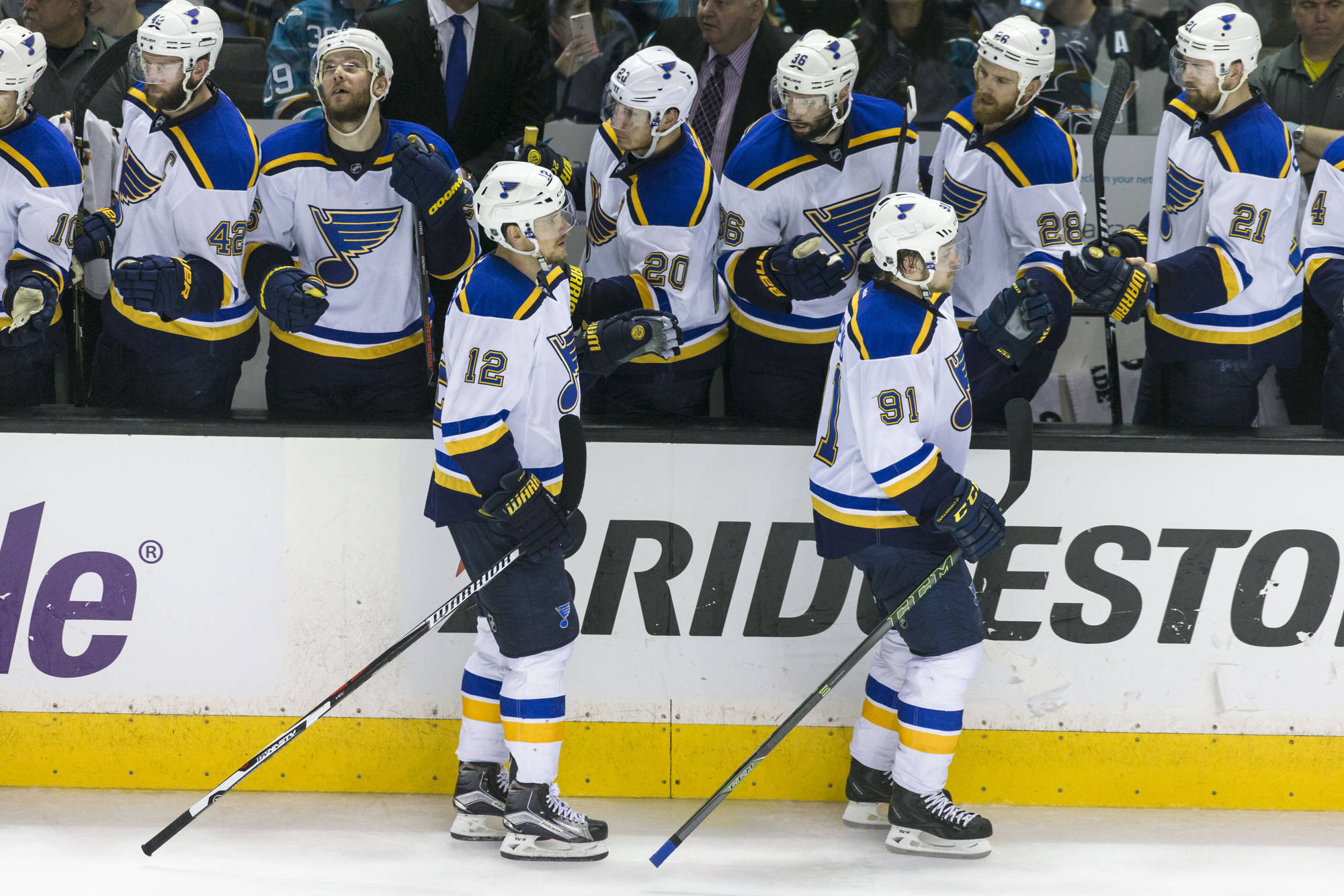 NHL Projections:  St. Louis Blues Lineup