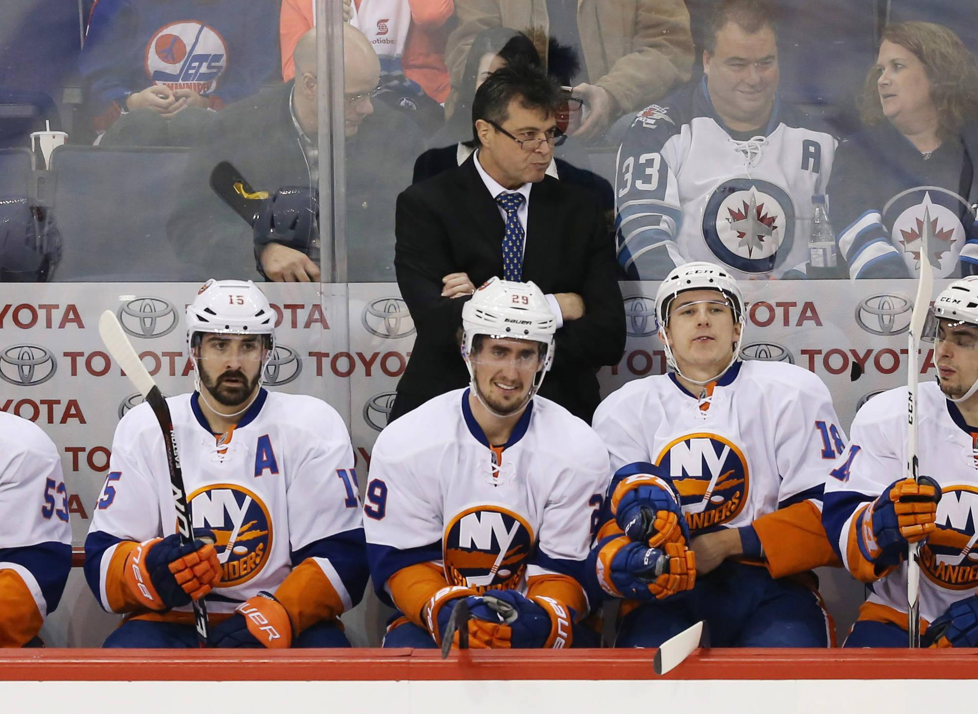 Jack Capuano Out as Islanders Head Coach
