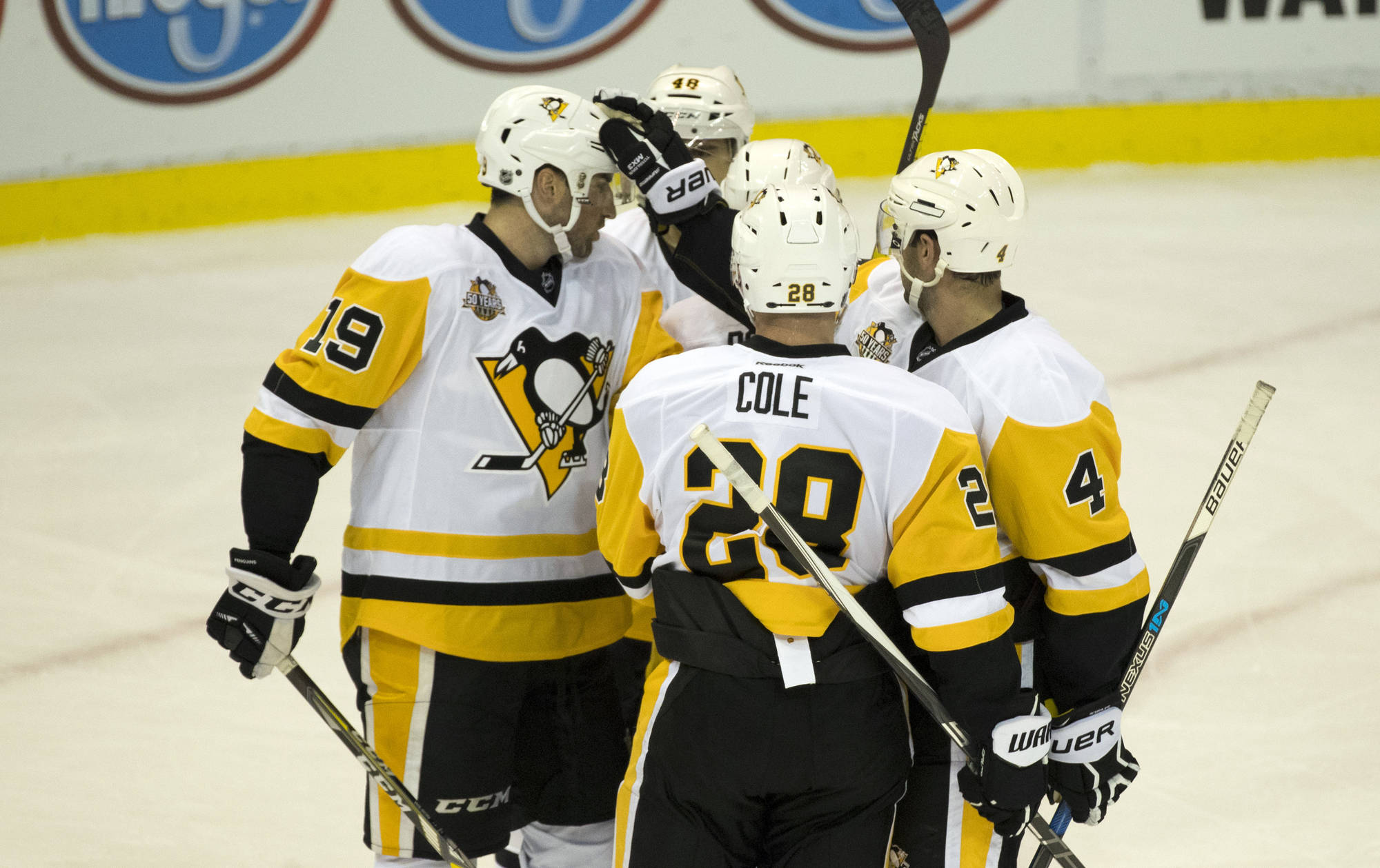 NHL Projections:  Pittsburgh Penguins Lineup