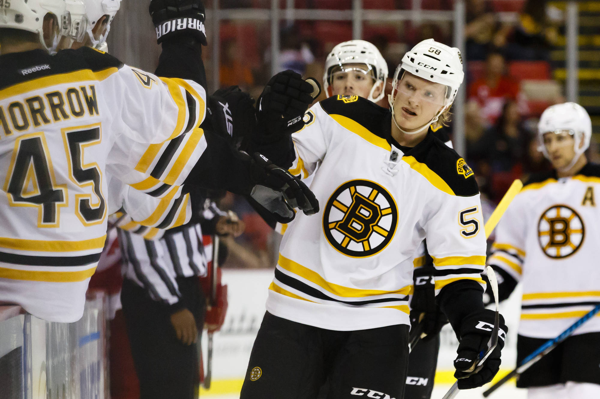 Danton Heinen Should Make the Boston Bruins