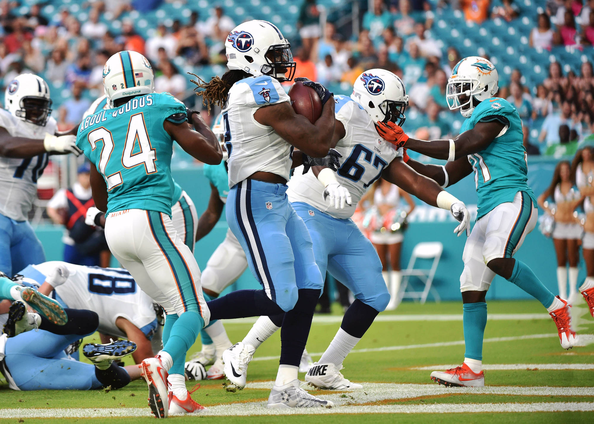 Game Preview: Titans (1-3) and Dolphins (1-3) Set to Battle the Storm in Week Five Matchup