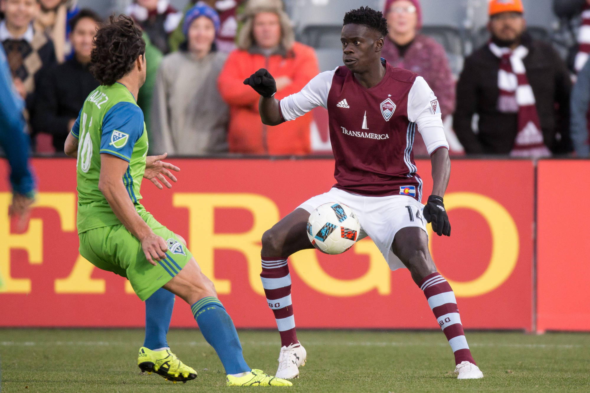 MLS Aces Interview with Colorado Rapid's Dominique Badji