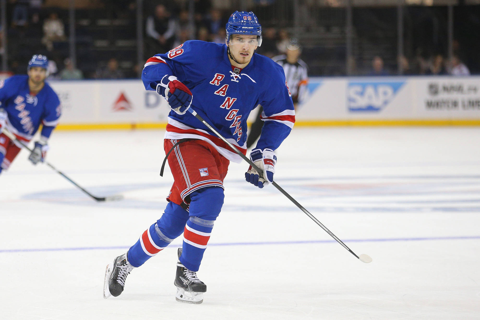 Pavel Buchnevich Numbers Say Recent Points Tear No Surprise