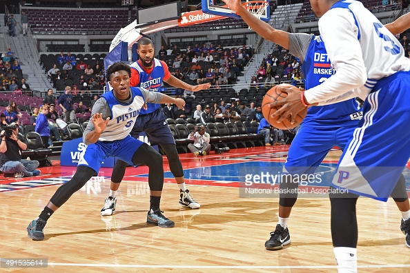 The Pistons 2015-2016 Season So Far