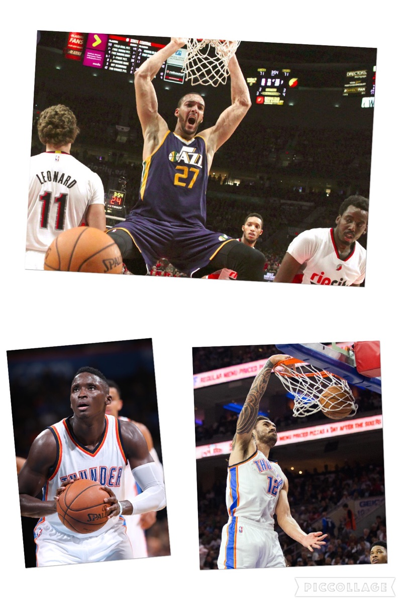 New money for Rudy Gobert, Victor Oladipo and Steven Adams