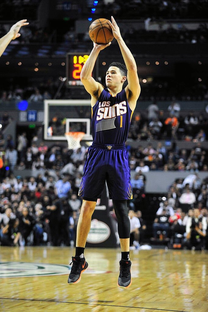 NBA Player of the Night Devin Booker
