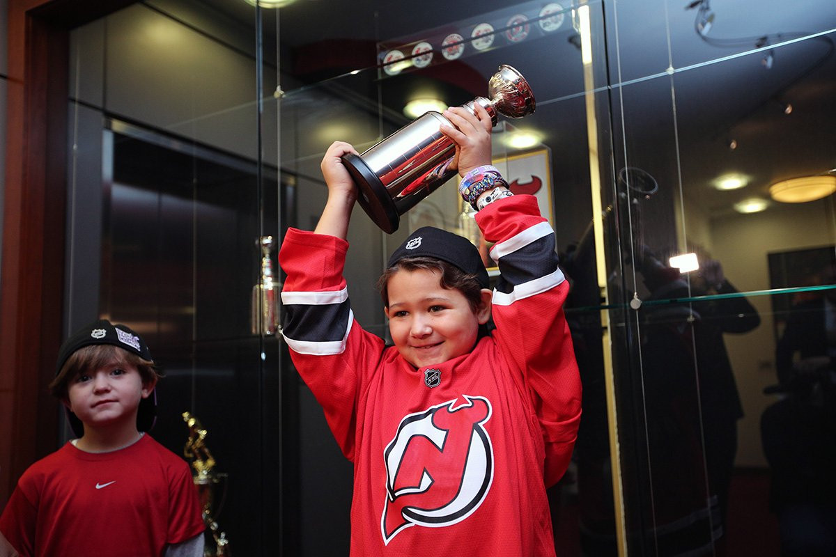 New Jersey Devils Sign Nine Year Old Fan to One Day Contract