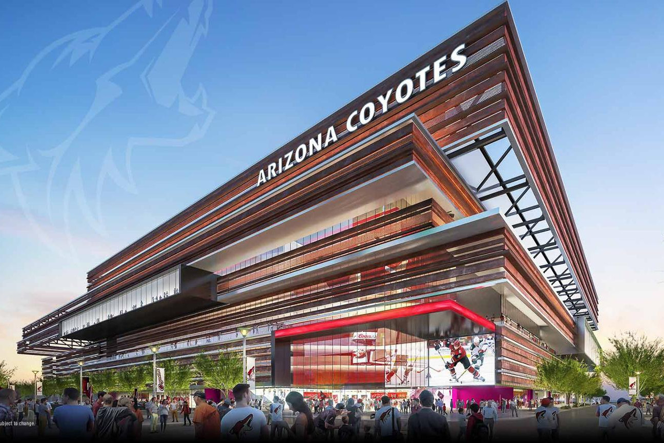 Arizona Coyotes to Build New Arena in the Phoenix East Valley