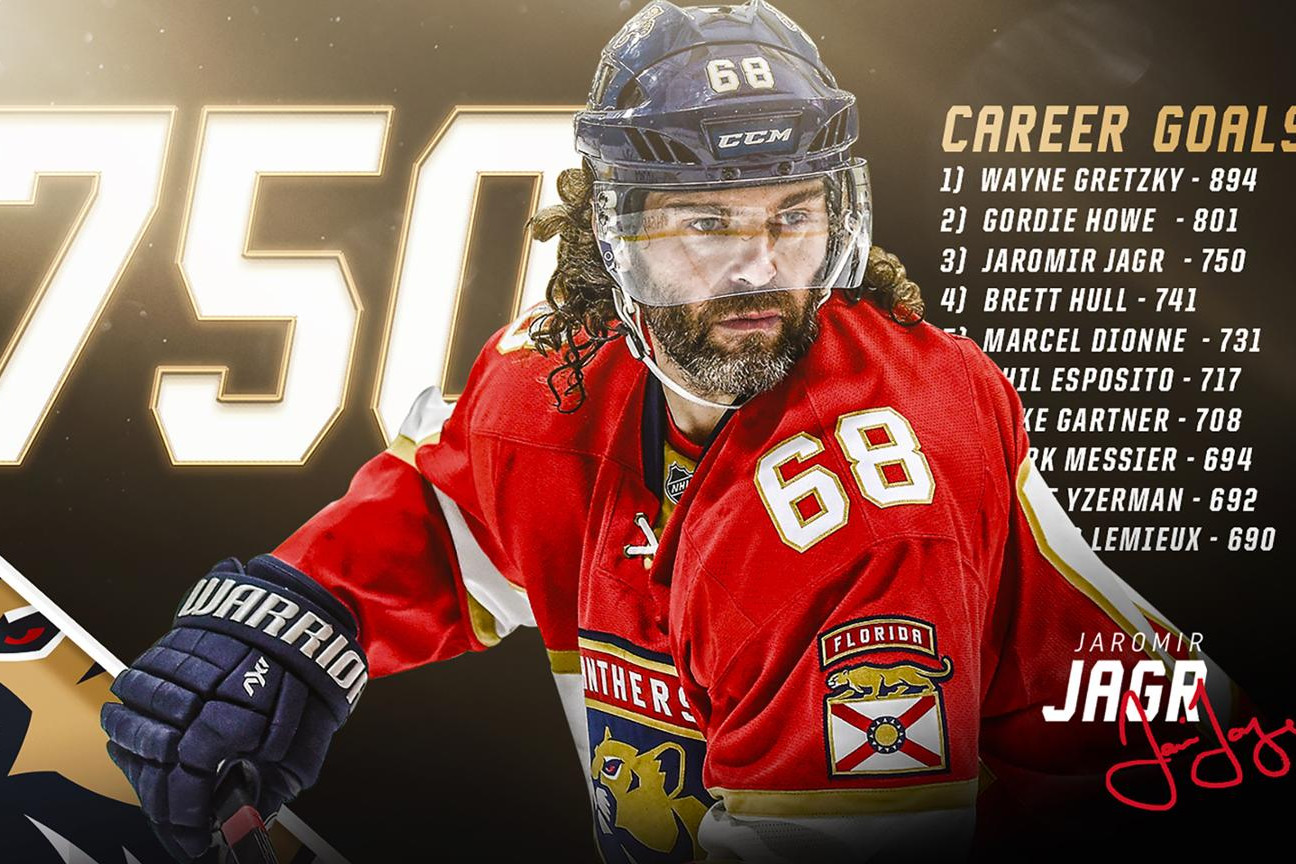 Jagr Scores Number 750, Ovi Hosts Special Hockey, Las Vegas NHL to Have a Name Nov 22