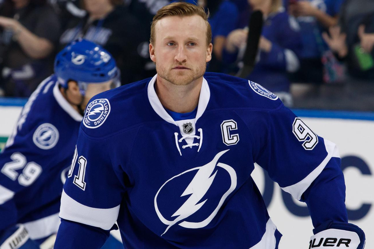 Tampa Bay Lightning to be Without their Captain Steven Stamkos for a Stretch