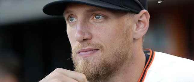 SF Giants in Peril: Hunter Pence Broken Forearm