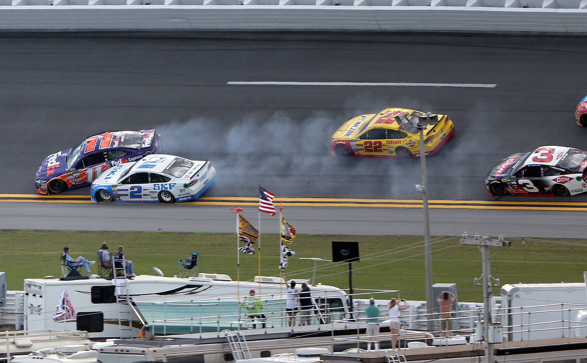Clash at Daytona Offers Sneak Peek of Brewing Toyota-Ford Rivalry