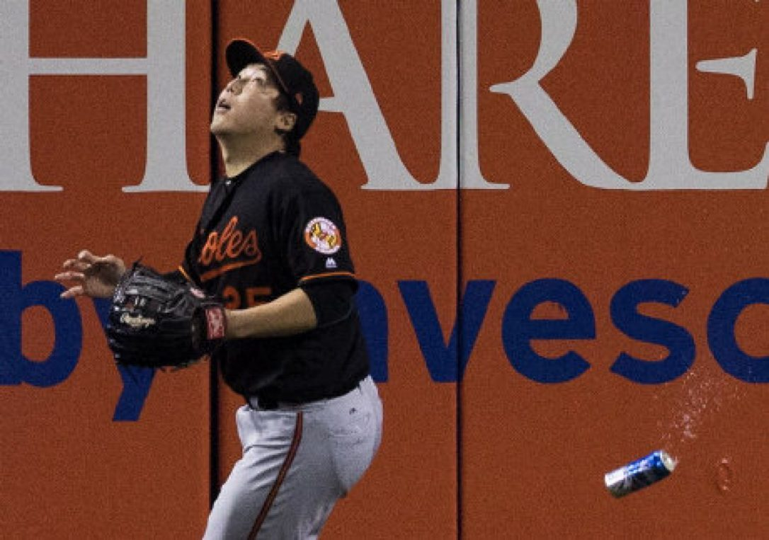 (Video:) Evidence Of The Women Who Threw A Beer Bottle At Hyun-Soo Kim During Wild Card Game