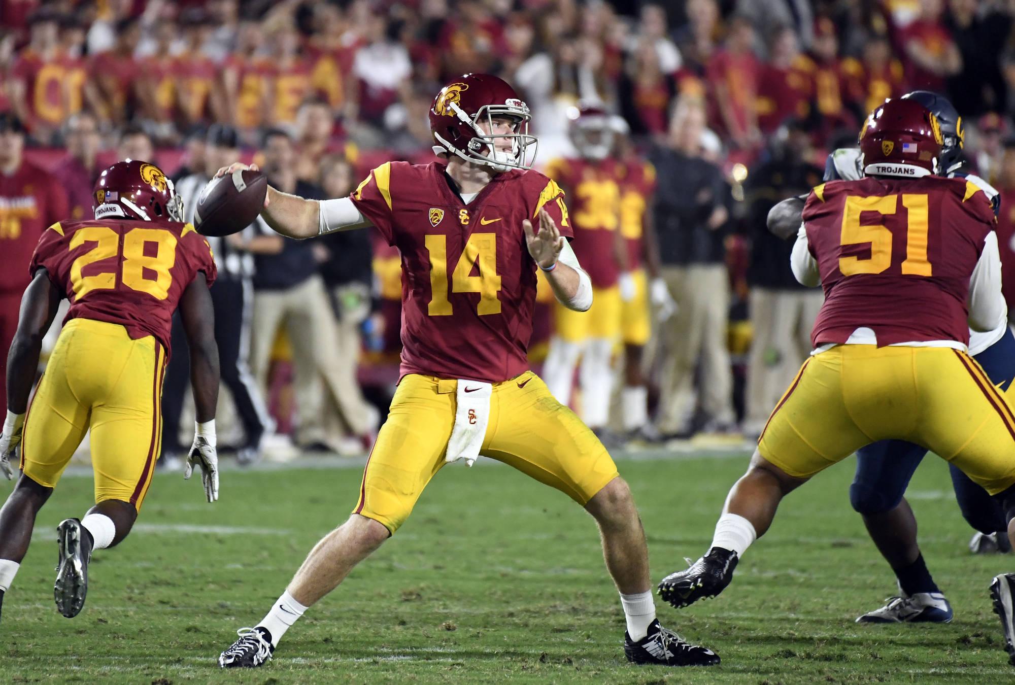 College Football: USC Trojans Maul the Bears