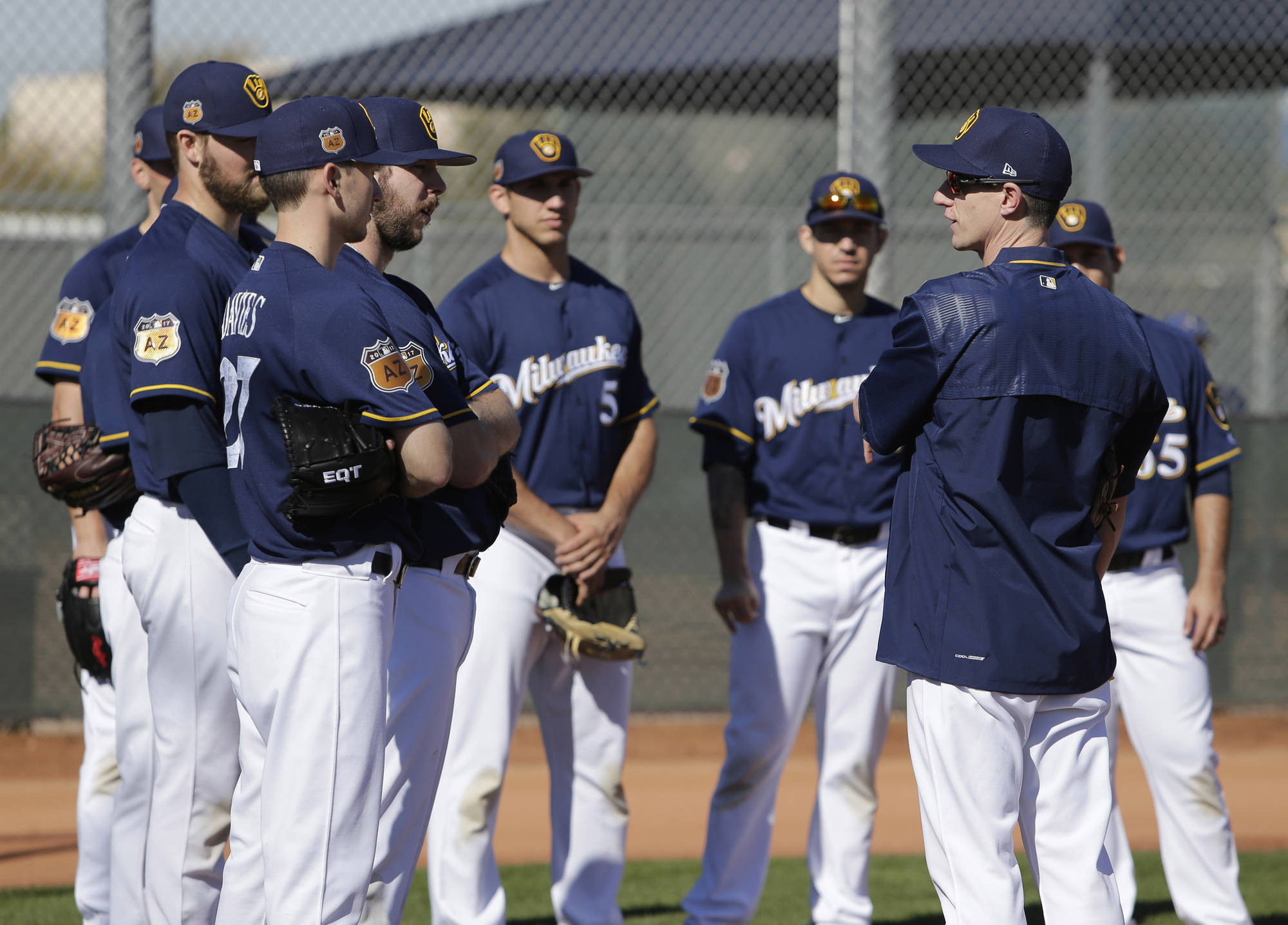 Five Things to Watch In Brewers' Camp
