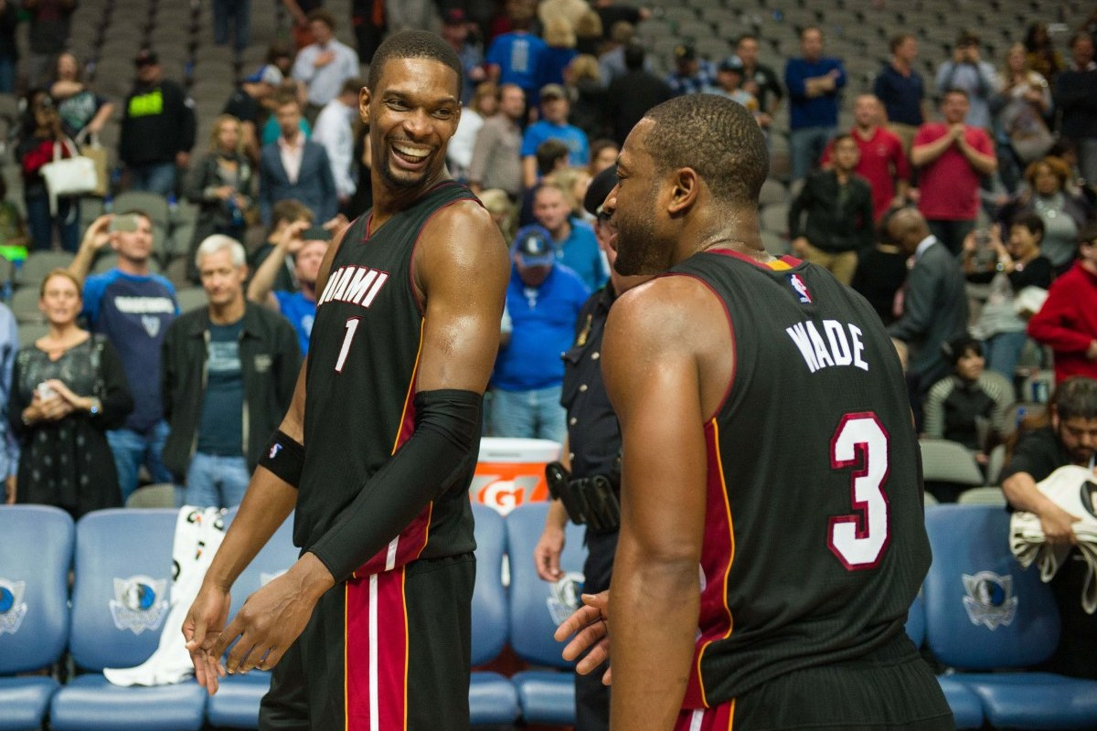CB still wants to play with old friend D-Wade?...