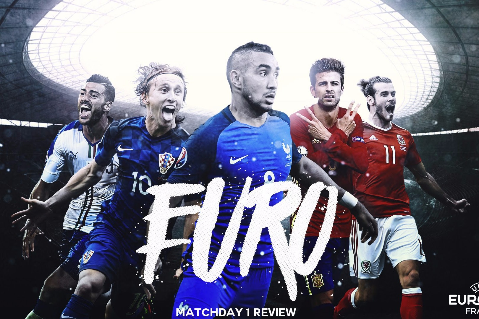 The Best of Match day 1 at Euro 2016