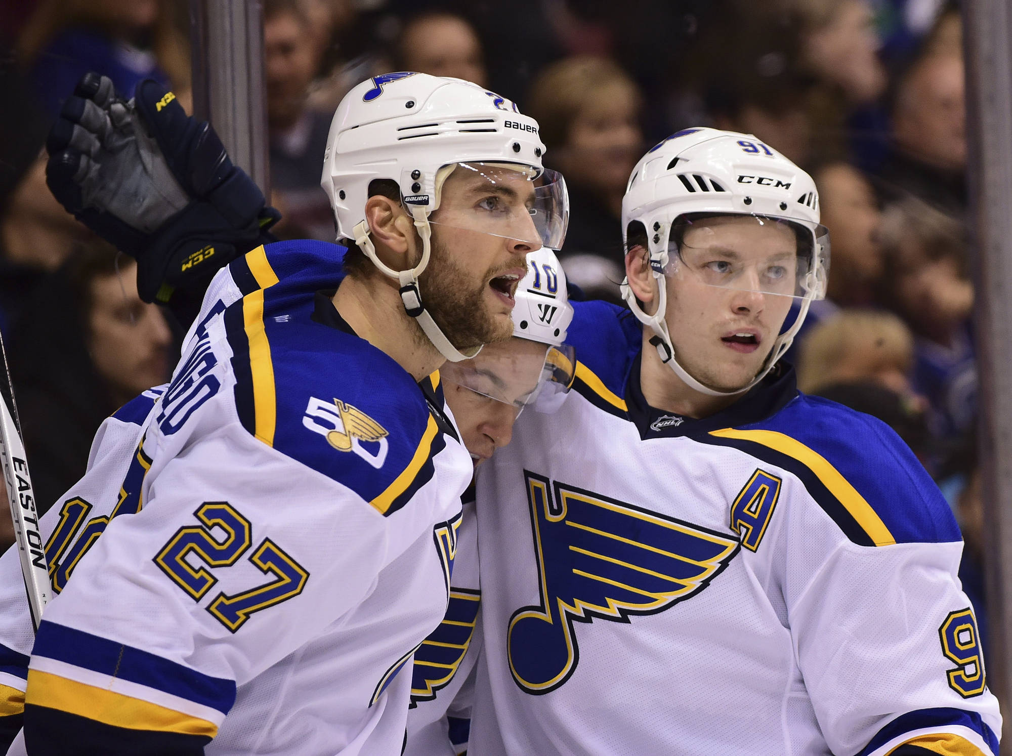 Blues Start 2016 Season Strong