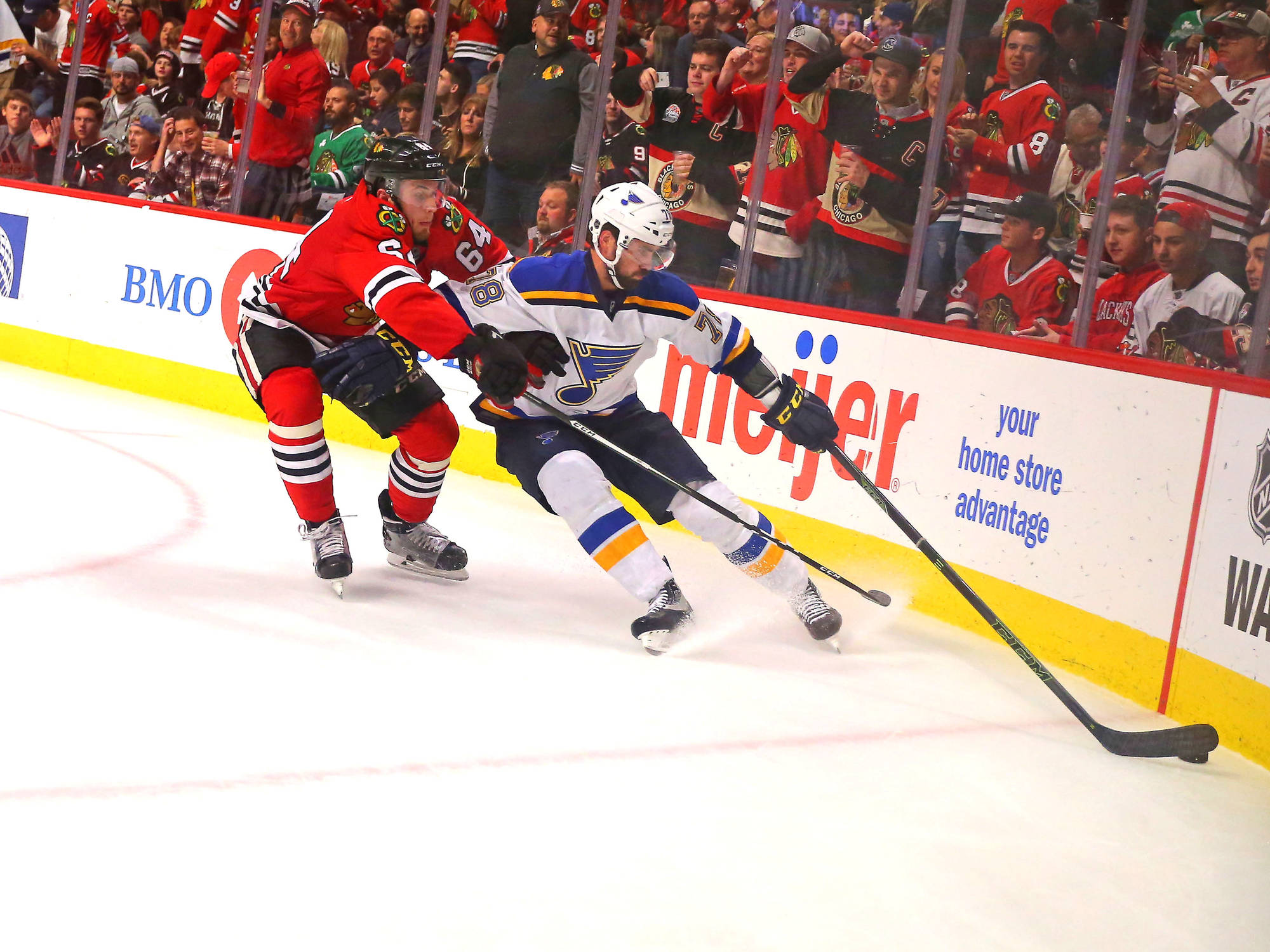 Puck Drops on NHL Season with Blues/Hawks Tilt