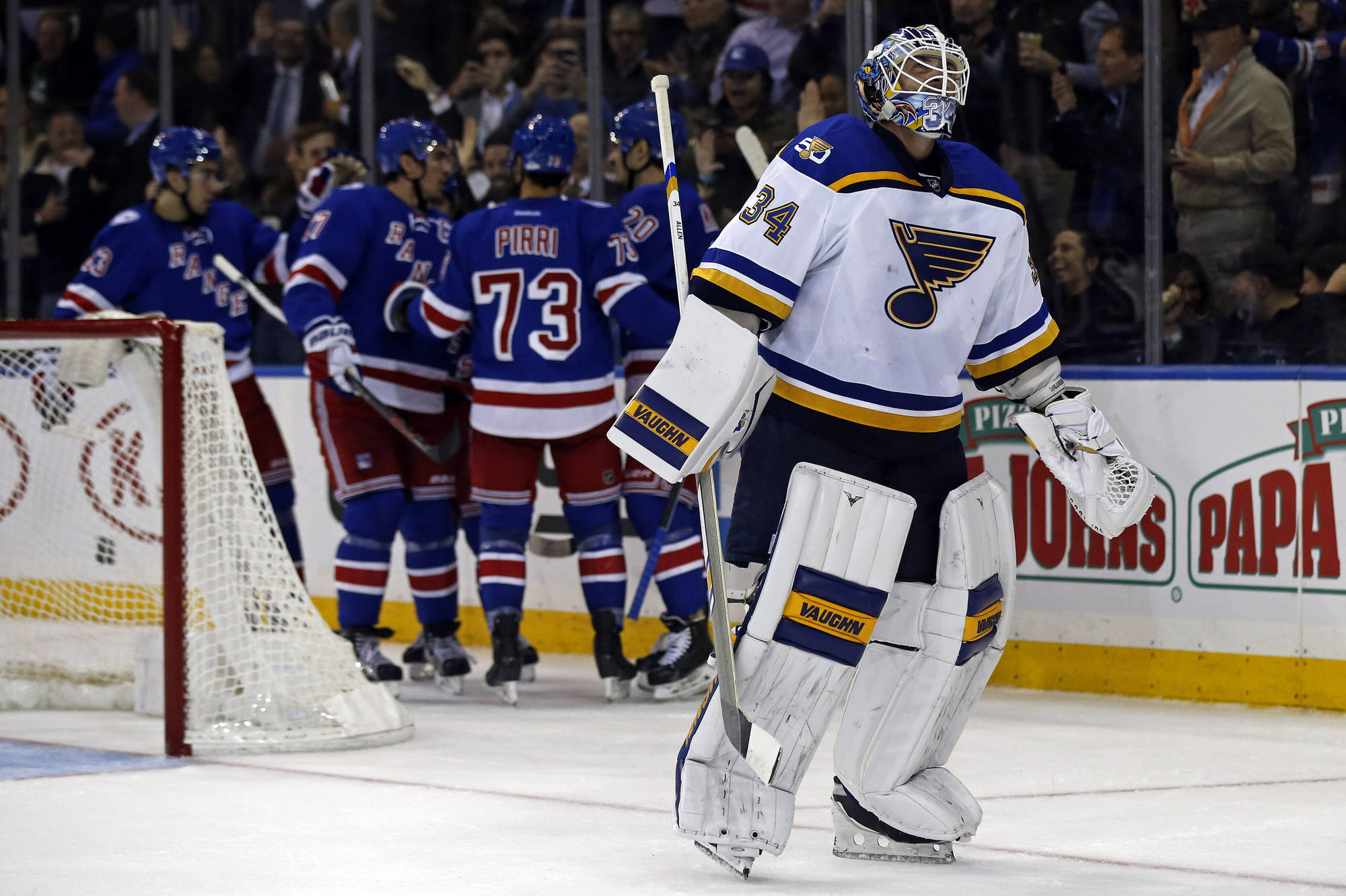 Scoring Woes Continue for Blues