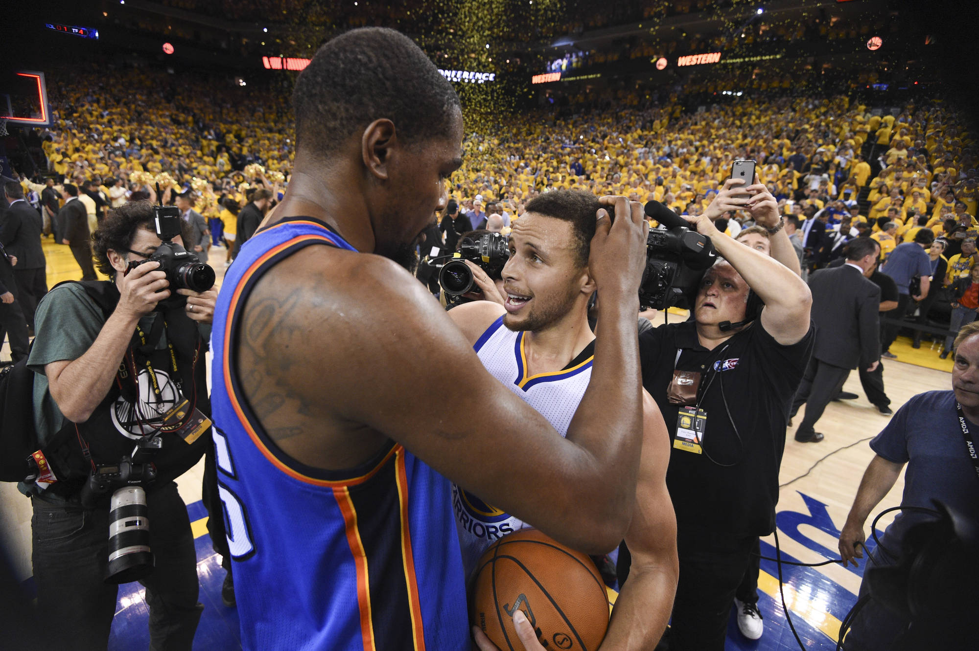 Kevin Durant to Warriors....NBA Changed Forever