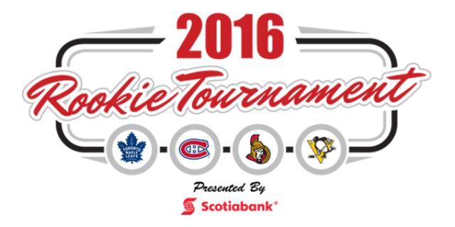 Scotiabank Rookie Tournament: London, ON (TOR, OTT, MTL, PITT)