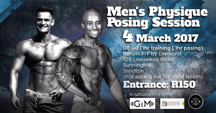 McAuliff and Mthimunye Give Back to Bodybuilding in SA