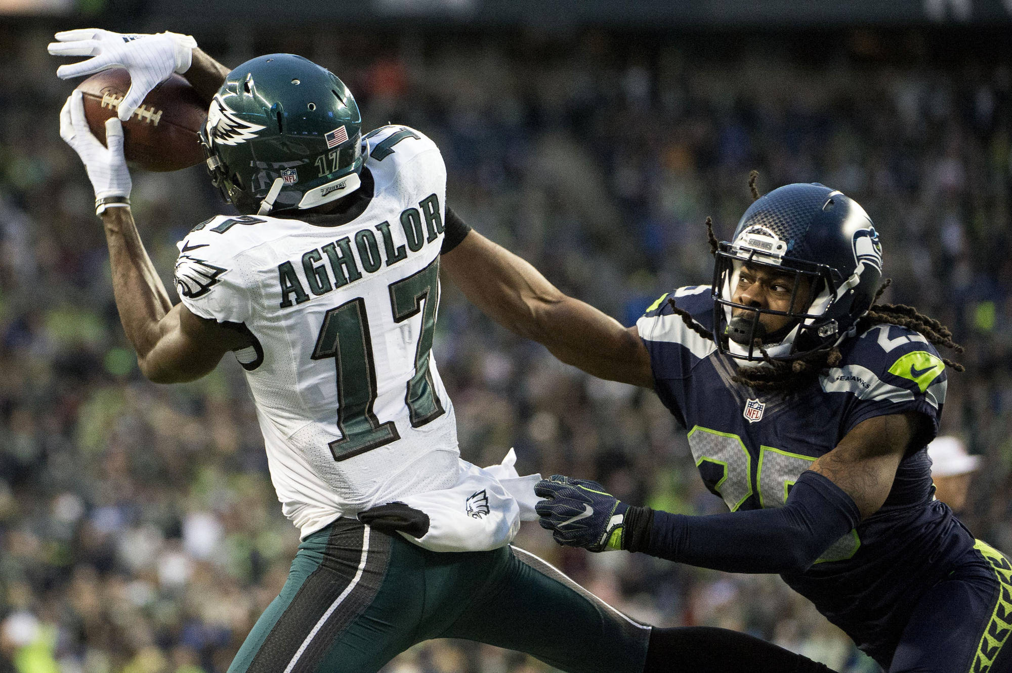 How Should the Eagles Approach Nelson Agholor