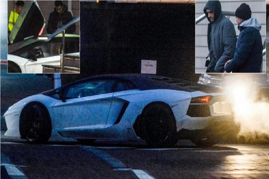 Mkhitaryan upset by injury, leave the hotel with a Lamborghini worth 300 thousand euro