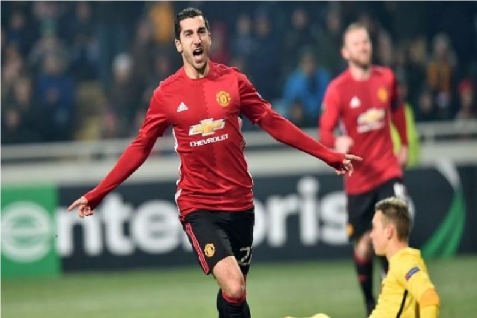 Mkhitaryan happy with his first goal for United