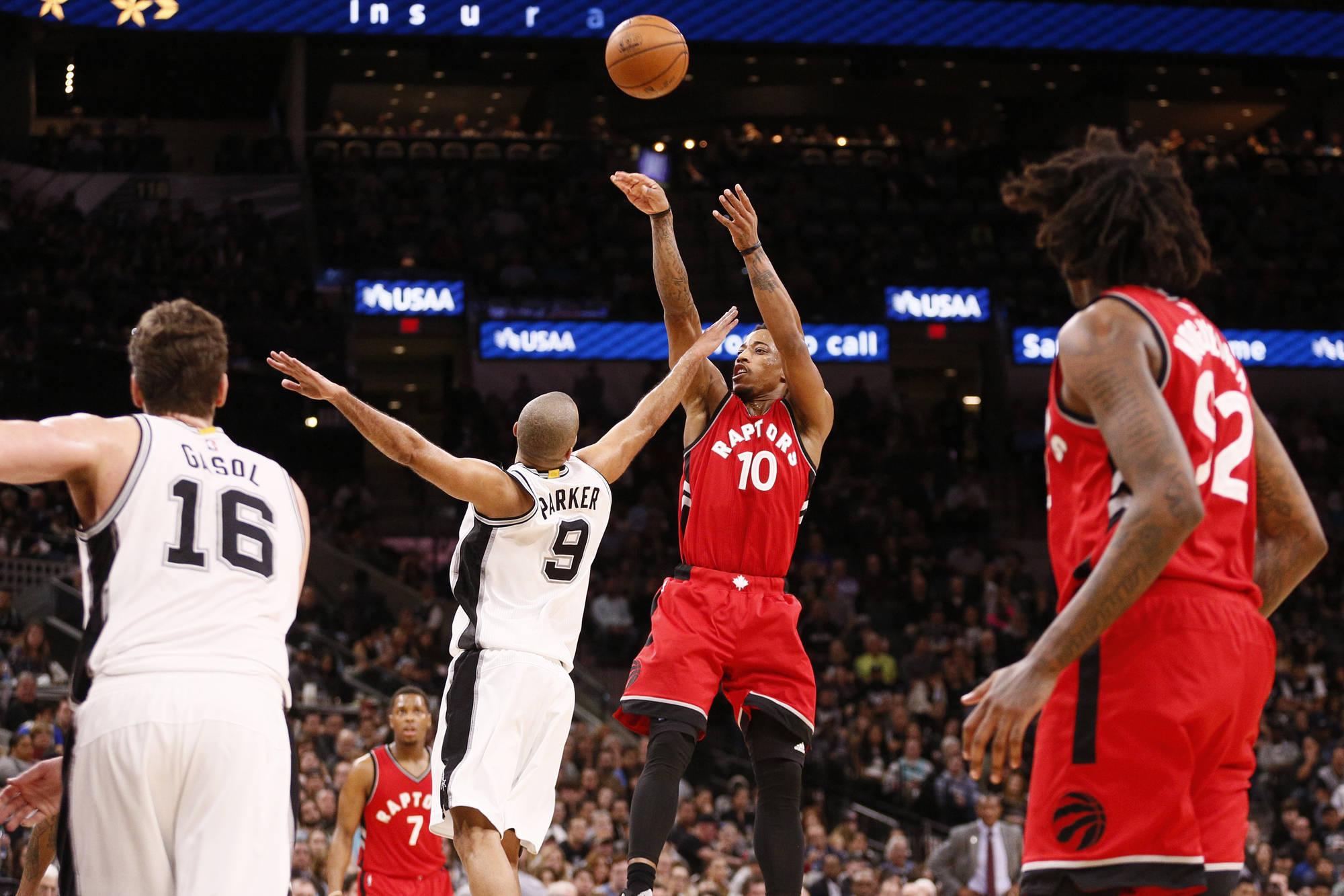 Toronto Raptors lose to the San Antonio Spurs in final game of road trip