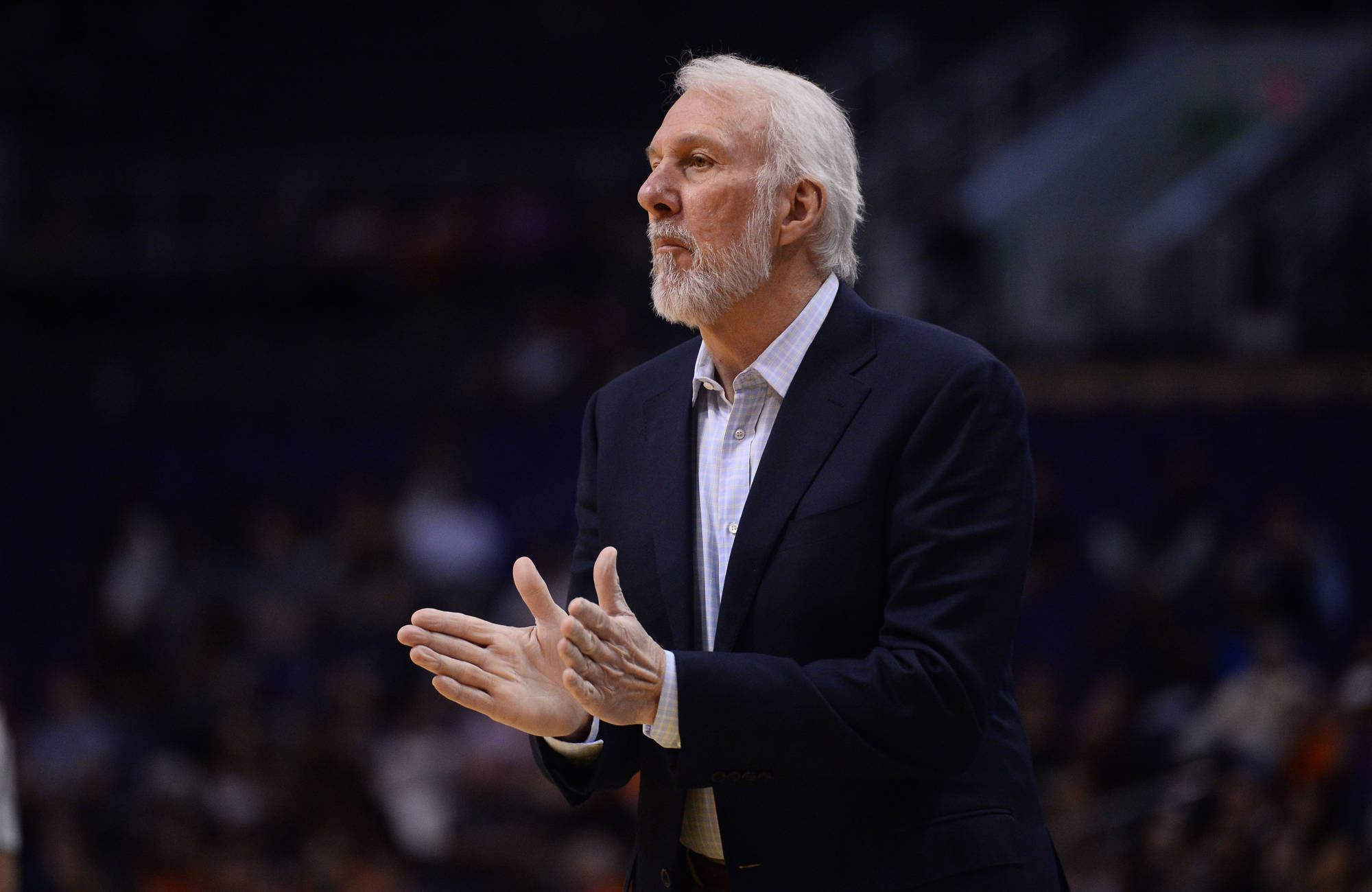 Gregg Popovich told Bill Kennedy that he is courageous for coming out