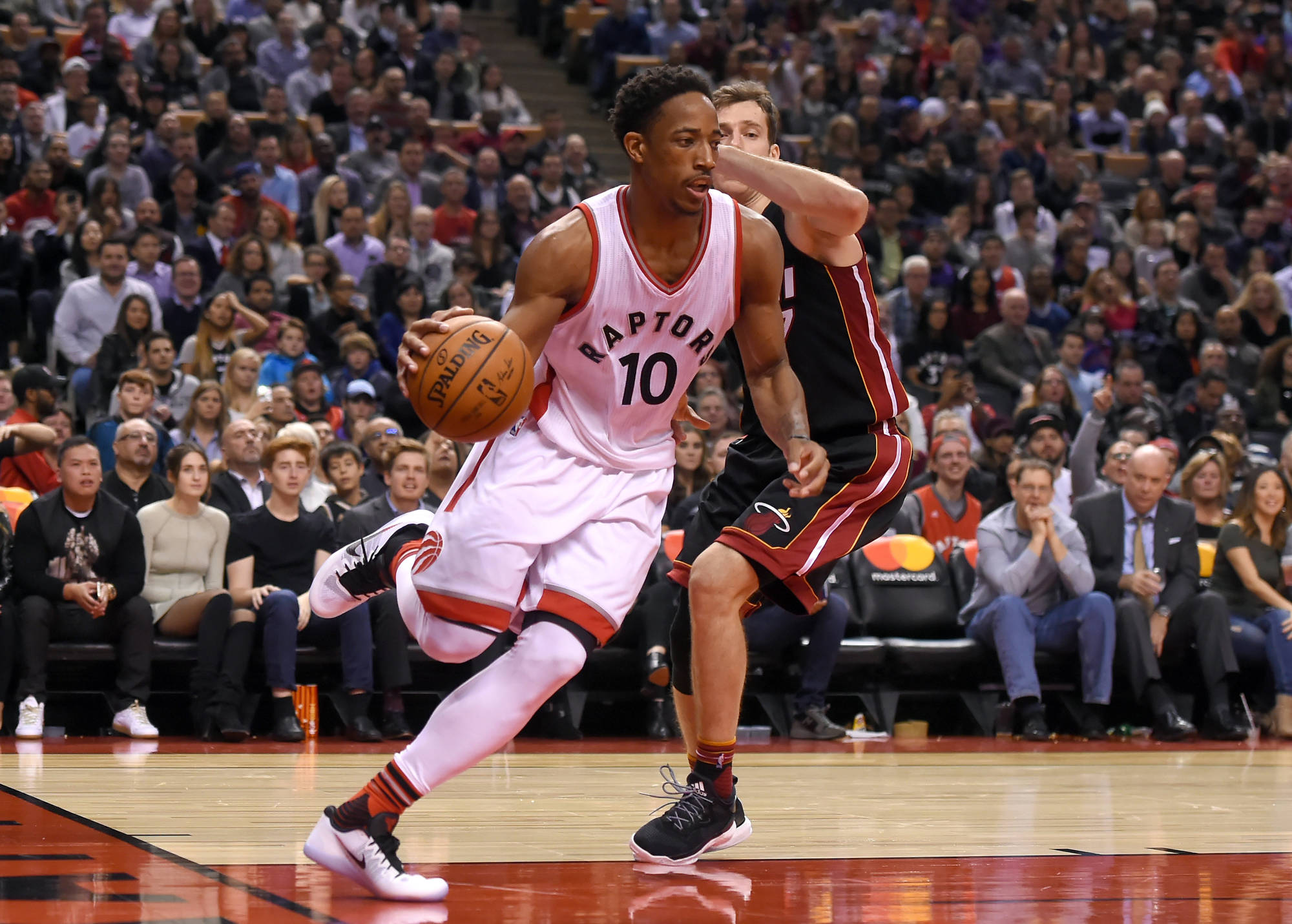 Low SI ranking one of the reasons why DeRozan is scoring so much