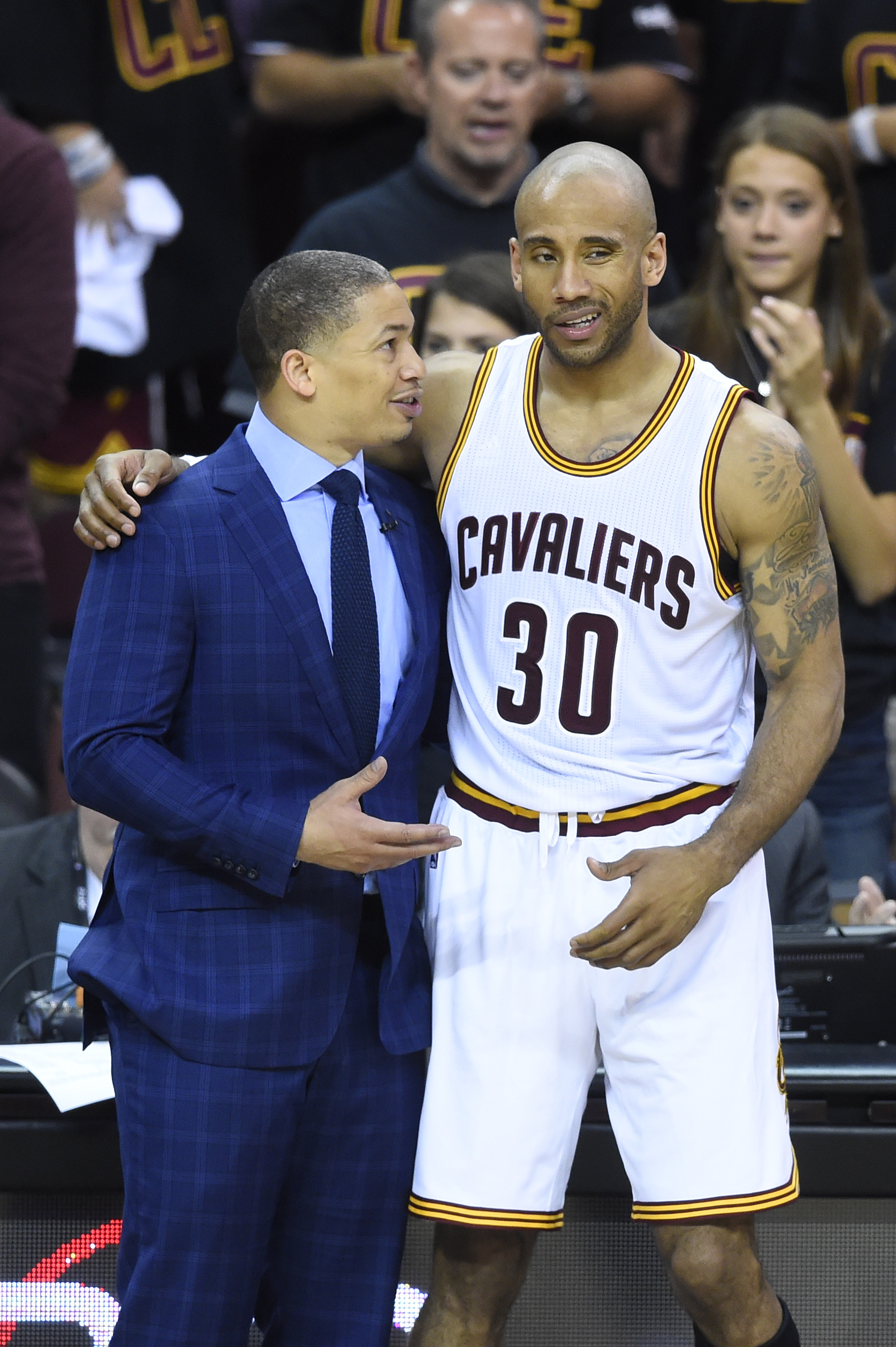Why Was Dahntay Jones at The Ring Ceremony?