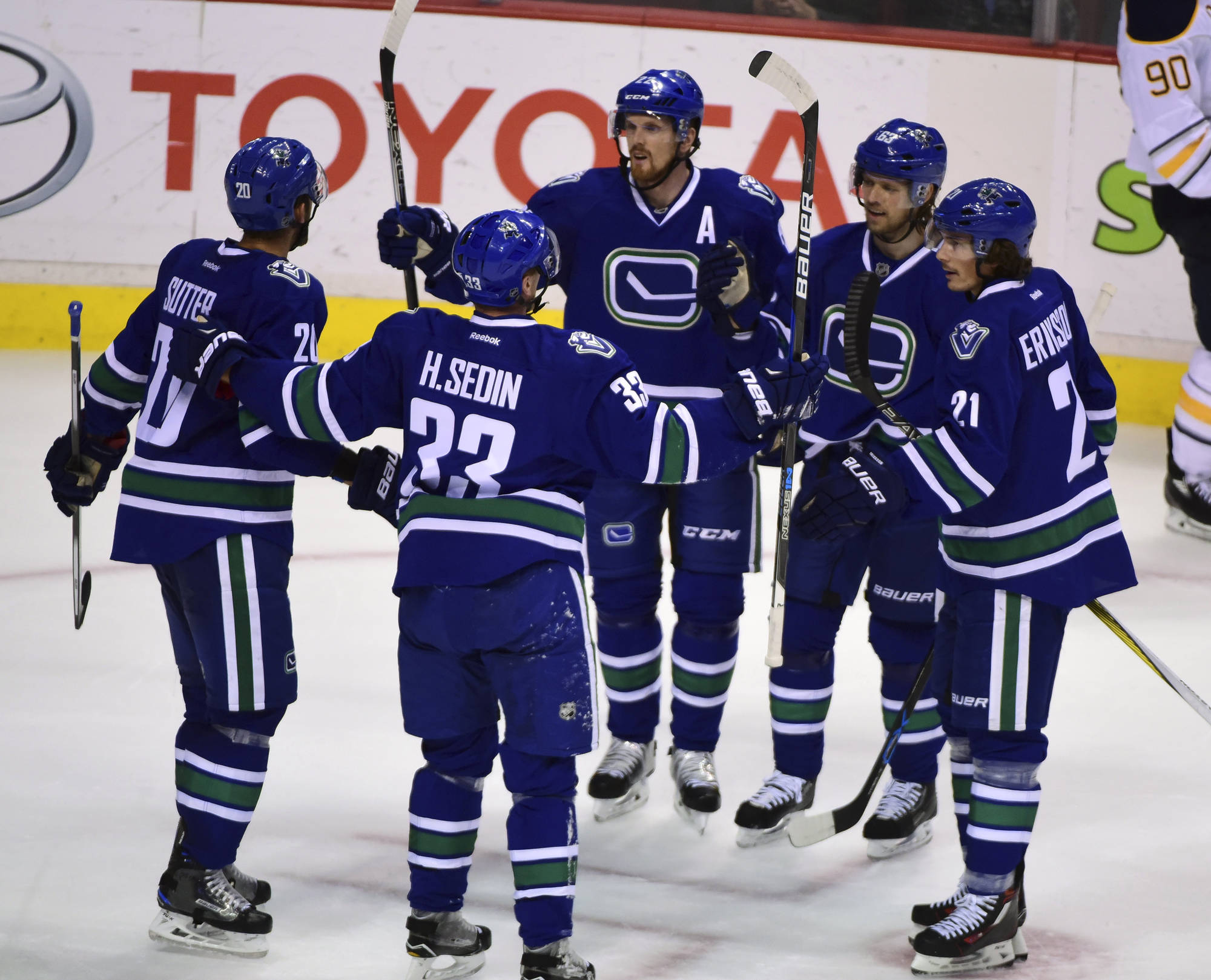 Postgame: Canucks vs Sabres... The 82-0 Dream Continues