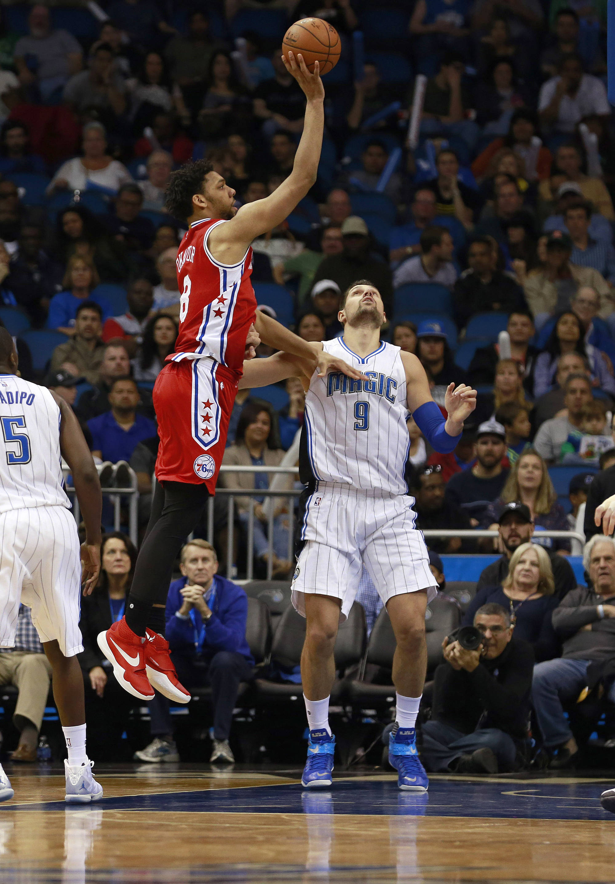 Jahlil Okafor might be traded to the San Antonio Spurs