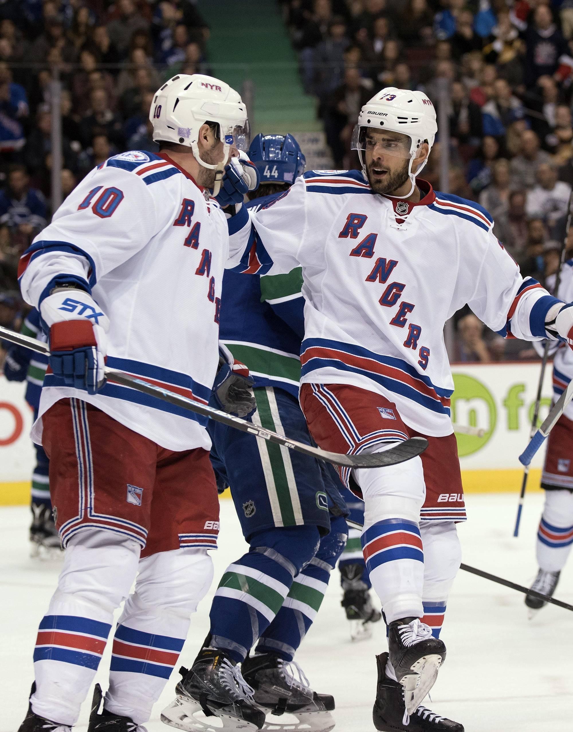 Rangers Avenge Canucks Loss As Streak Continues
