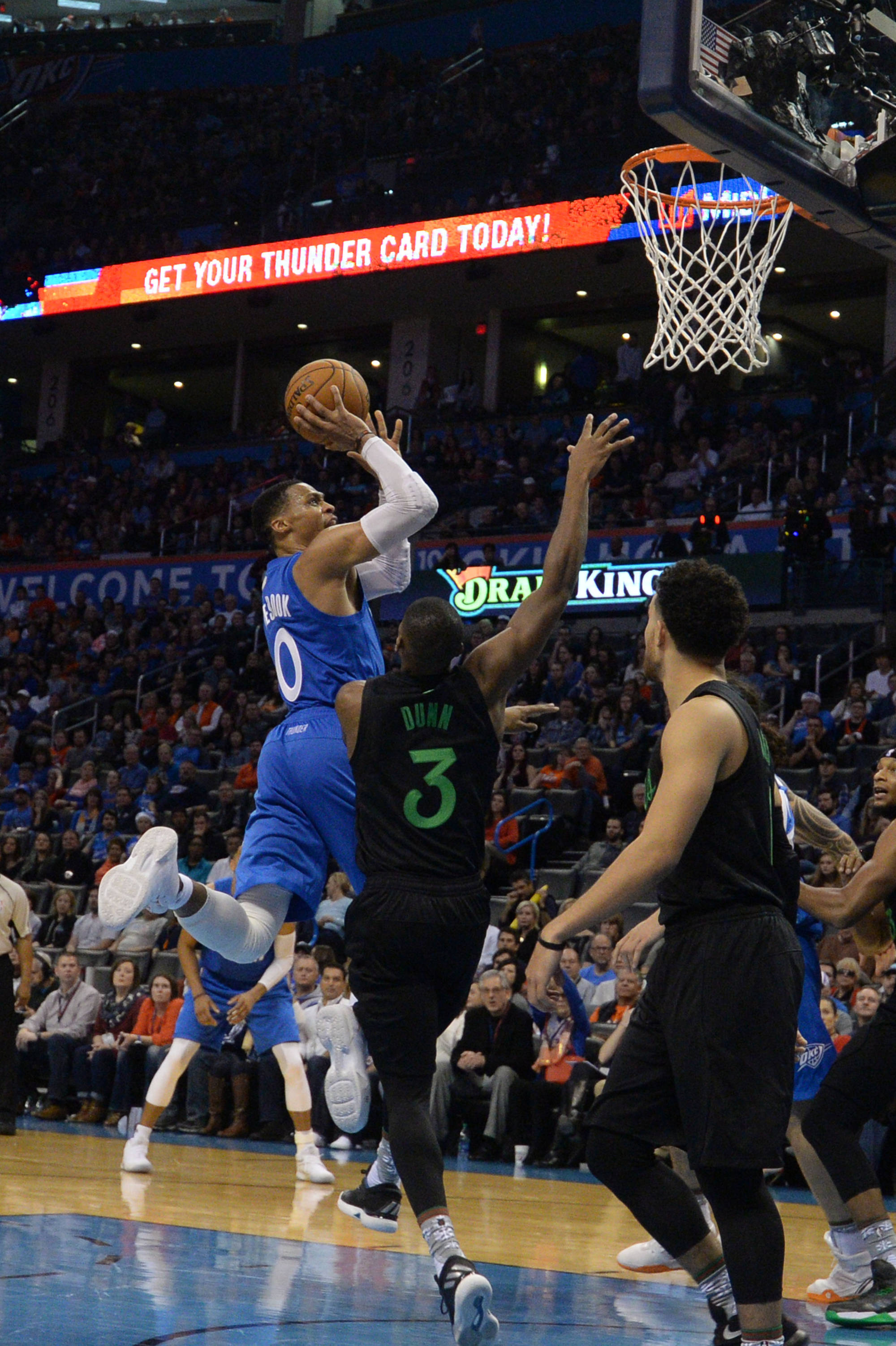 Thunder Top Timberwolves