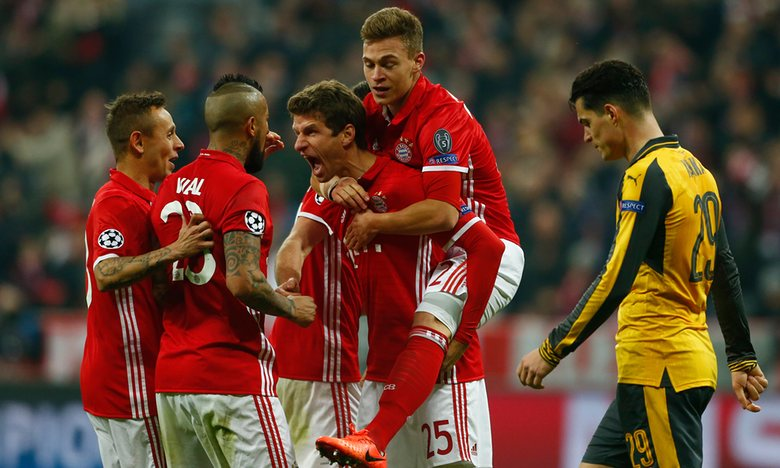 Arsenal victimized by The Bayern Machine yet again