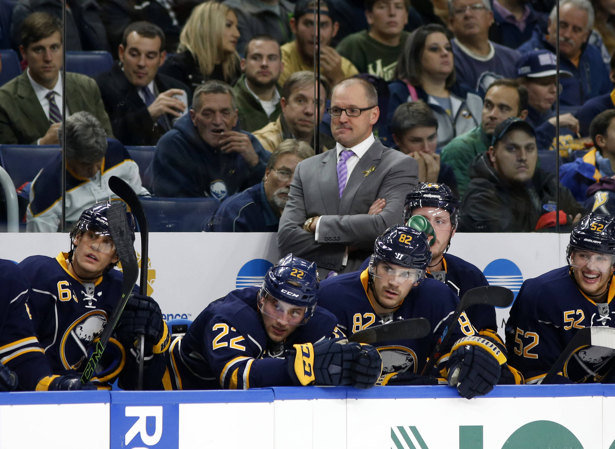 The Buffalo Sabres are right on track... Relax