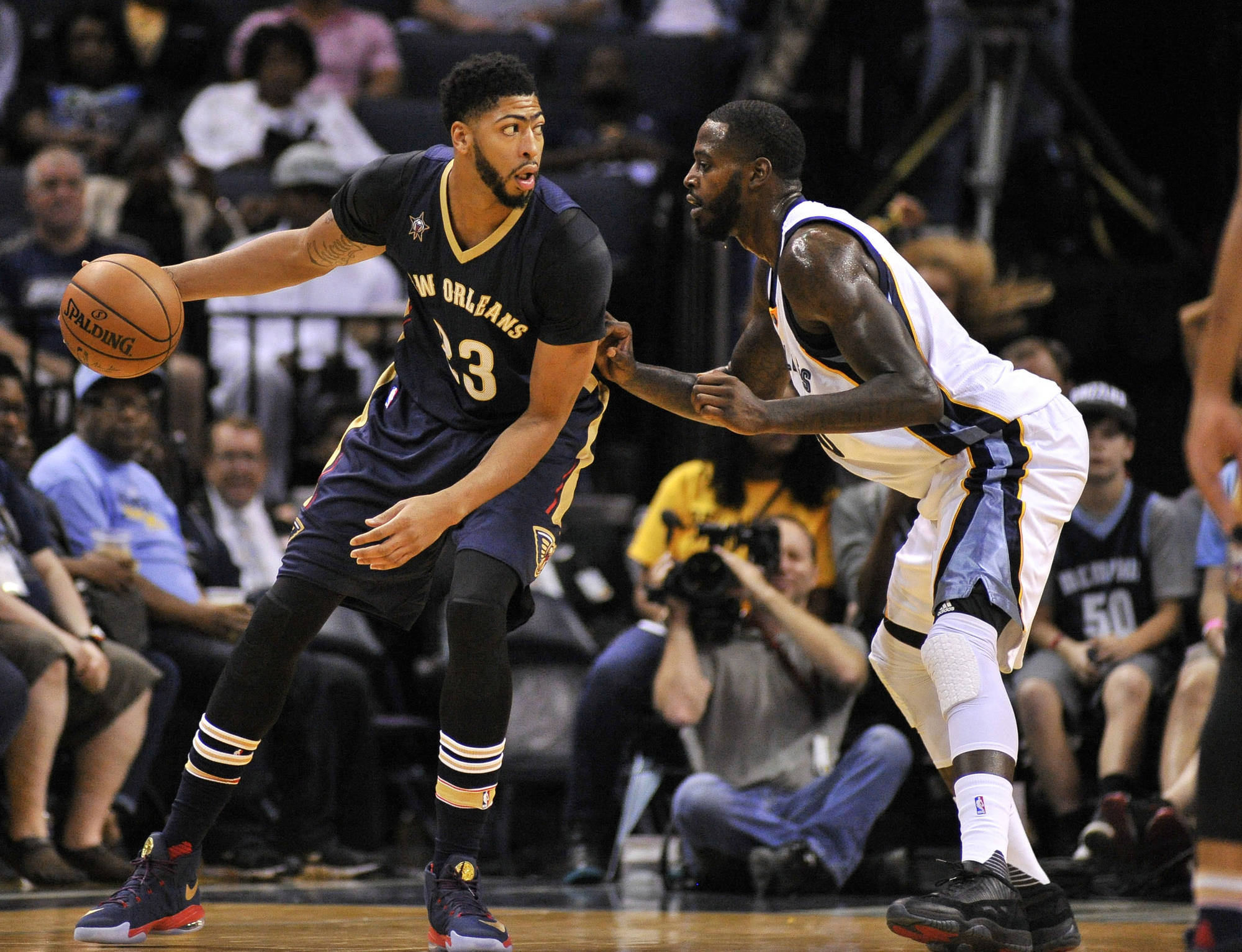 Anthony Davis leads the league in minutes.