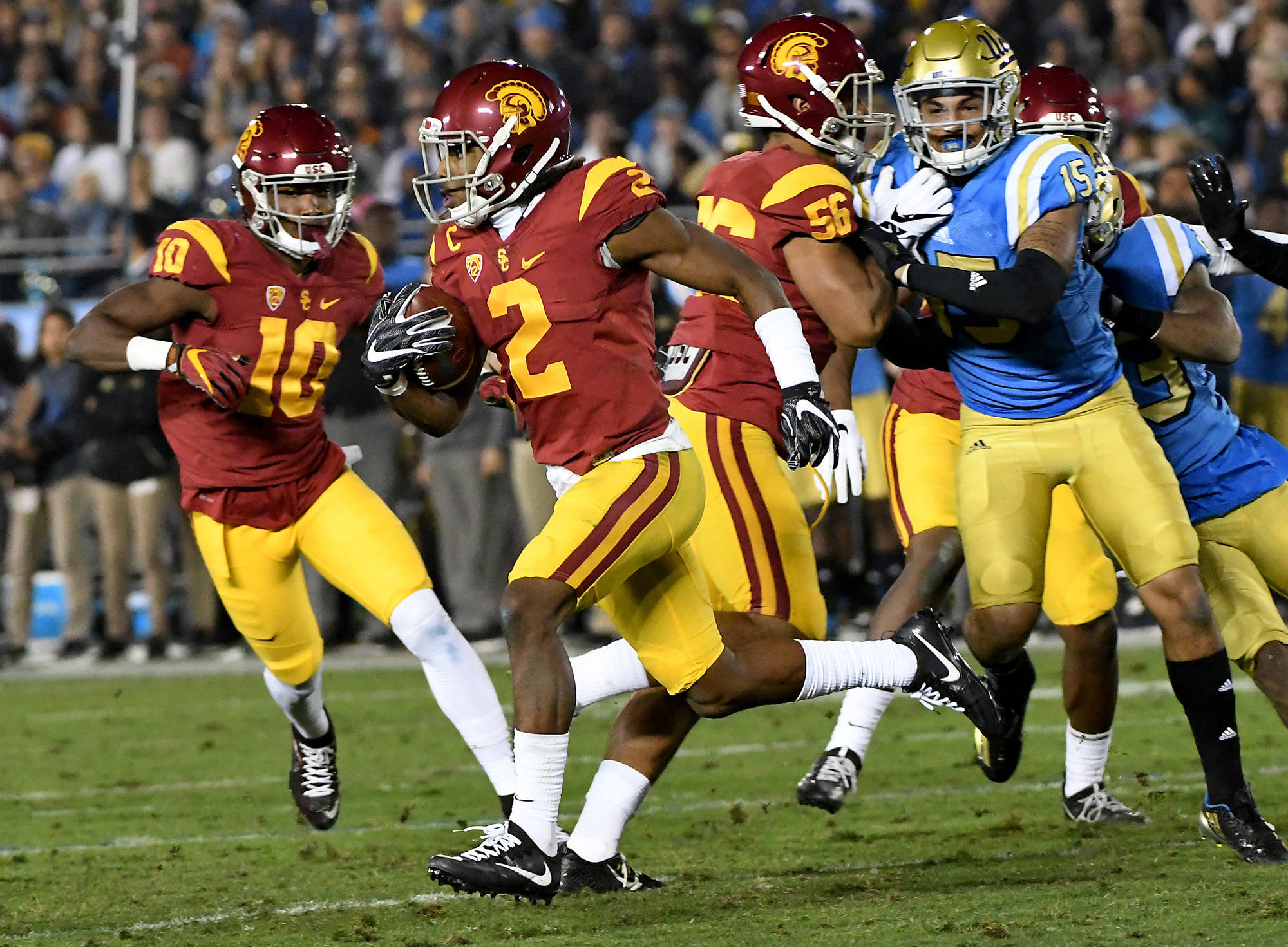Pac-12 Week 12 Rankings: SC On The Rise