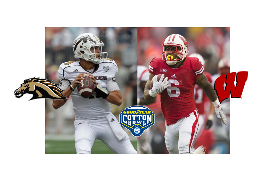 Western Michigan-Wisconsin Cotton Bowl Preview