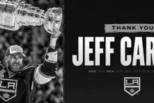 Kings extend Alex Iafallo and say goodbye to Jeff Carter