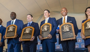 We Have New Inductees Into The MLB Hall Of Fame.