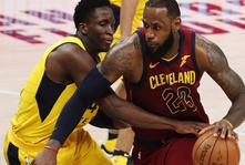 NBA Playoffs 2018: LeBron James Leads Cavs To 104-100 Win Over Pacers, Series Tied At 2-2