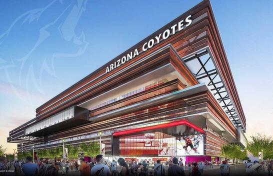 Arizona Coyotes to Build New Arena in the Phoenix East Valley
