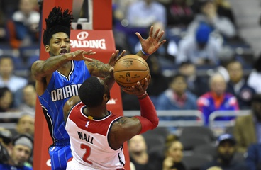 My Return: John Wall is surrounded by nobody as the Wizards lose to the Magic